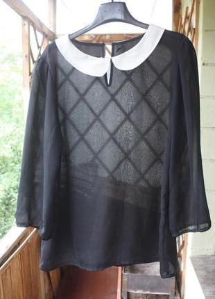 Прозрачная блуза vero moda
