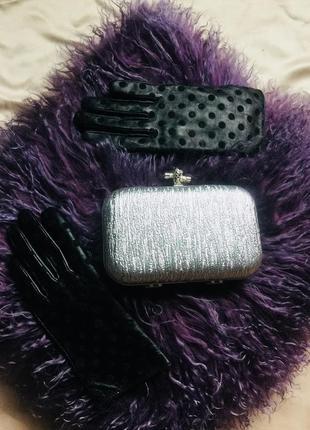 Перчатки topshop кожа 7
