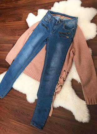 Джинси , джинсы высокая посадка