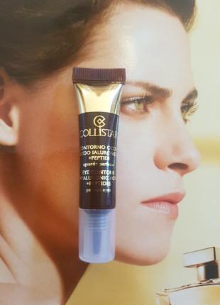 Концентрат eye contour hyaluronic acid + пептиды для глаз peptides perfect eyes collistar