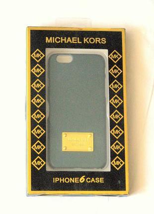 Michael cors    темно синий чехол-накладка на айфон 6