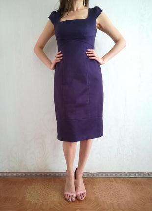 Крутое платье футляр из плотного коттона coast