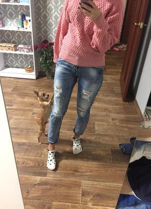 Бойфренды, джинсы бойфренды