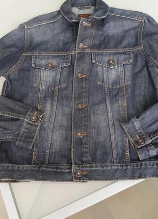 Джинсовая куртка colin's.