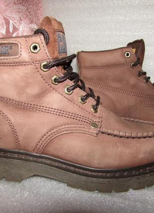 Фирменные ботинки натуральная кожа ~ caterpillar ~ р 36-37