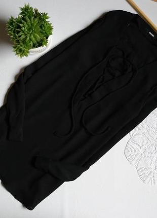 Блуза шифонова на завязках bik bok