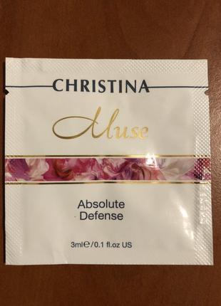 Пробник christina muse absolute defense  сыворотка «абсолютная защита кожи»