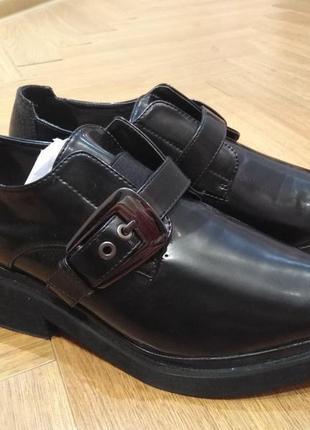 Черные туфли lost ink