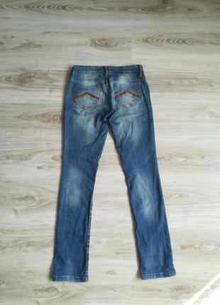 Фирменные прямые джинсы!2