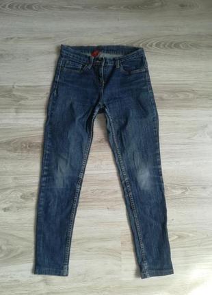 Укороченые котоновые джинсы!