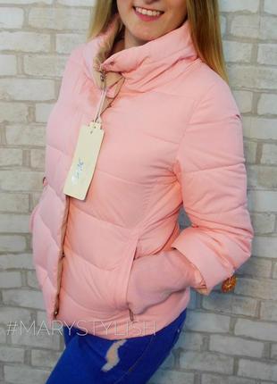Курточка с довязом на синтепоне. последний размер в наличии!!! распродажа!