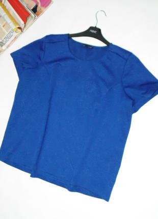 Блузочка 20 размера/цвет сапфир marks & spencer
