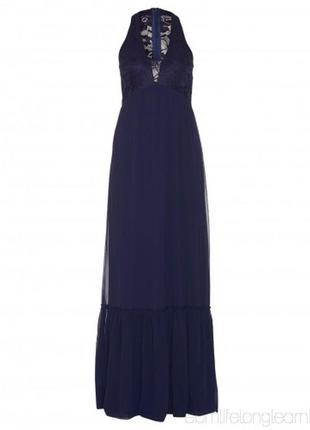 Вечерние платье в пол sisters point