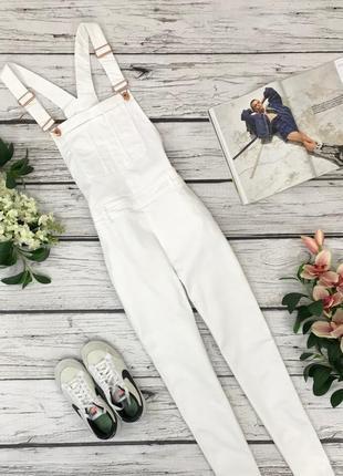 Белоснежный джинсовый комбинезон от h&m  ov1837065  h&m