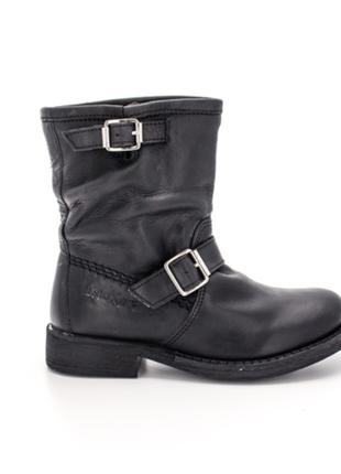 Новые ботильоны kickers, франция сапоги/ботинки 100% кожа деми