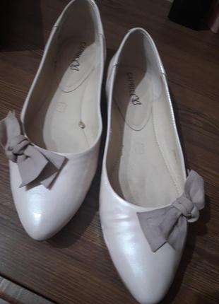 Базовые брендовые нюдовые балетки