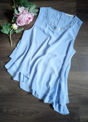 Ассиметричная блуза