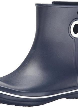 Резиновые сапоги crocs jaunt shorty boot раз. w9 (наш 39)