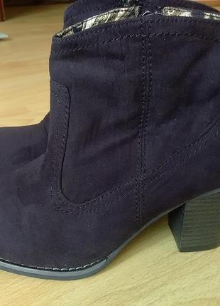 Ботинки 37р trend one замша
