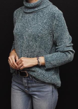 Плюшевый свитер с горловиной/ гольф bpc