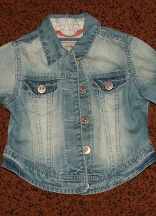 Куртка джинсовая next р. 3-4 года