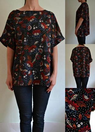 Легкая блуза свободного кроя 18