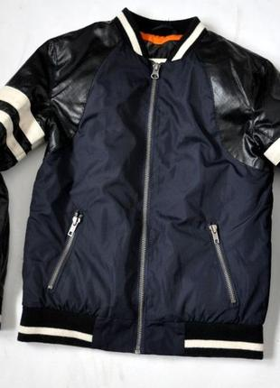 Куртка бомбер  river island 10 лет, 140 см