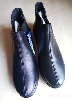 Inblu. ботинки, полусапожки. натуральная кожа