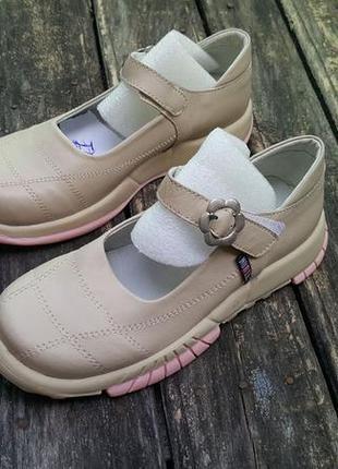Детские туфли *noble* (фабрика) / для девочек   (р-ры 31; 34;35) (h23)