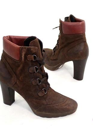 Ботинки 40 р nila&nila италия кожа оригинал демисезон
