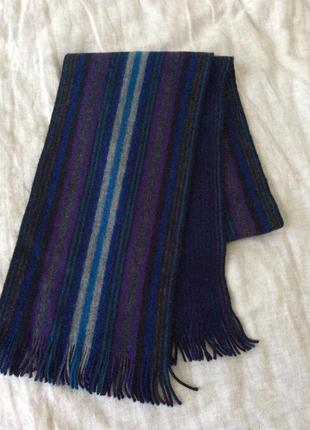 Полосатый шарф от luxury бренда ted baker