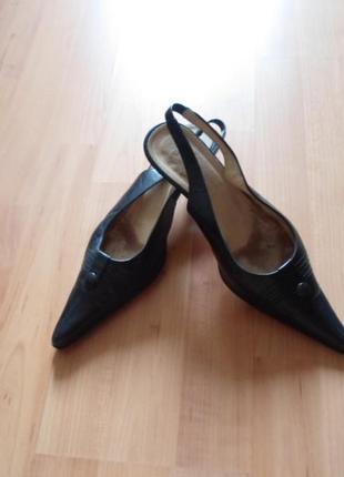 Туфли-босоножки кожа!!!