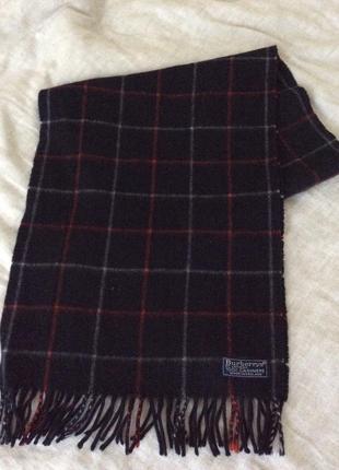 Классический кашемировый шарф burberry оригинал
