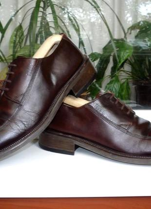 """Удобные туфли ортопедического бренда"""" ессо """". дания. оригинал. 43 р."""