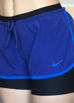 Спортивные шорты nike full flex 2 в 1 найк двойные шорты