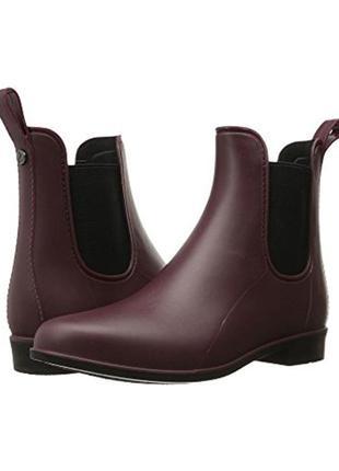 Резинновые сапоги челси гумові черевики челсі sam edelman