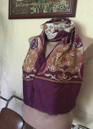 Фирменный шикарный итальянский шарф платок
