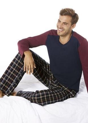 Шикарная пижама, штаны + лонгслив размер  хl евро livergy германия, цвет  фото 5
