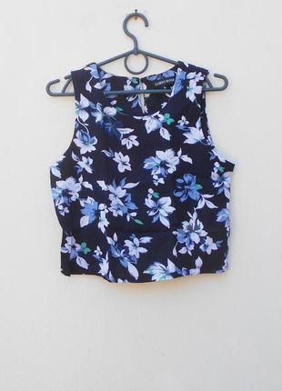 Летняя блузка топ из вискозы cameo rose