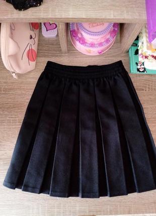 Классическая школьная  юбка на девочку 6-8лет winterbottom