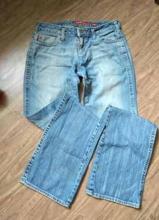 Крутые джинсы прямого кроя, варенка