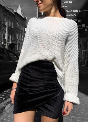Модна і стильна велюрова спідничка від pimkie!