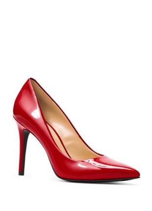 Красные лаковые туфли michael kors