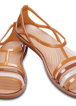 Crocs isabella sandal, кроксы женские, сандали крокс р. 39-оригинал
