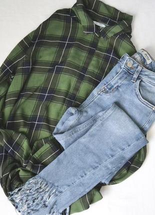 Джинсы скины джинсы с необработанным краем  низом