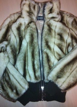 Меховая куртка-шуба oggi