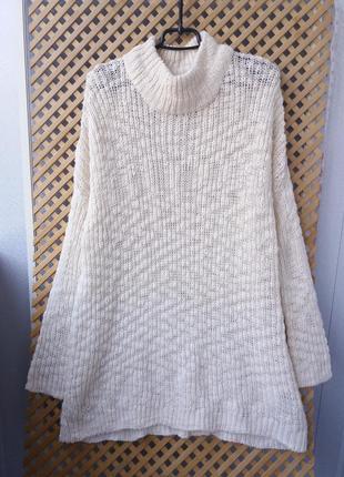 Легкий свободный свитерок- туника