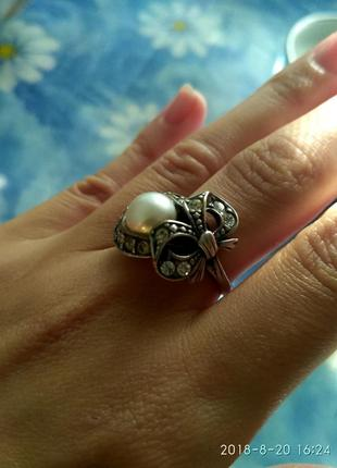 Продам кольцо серебряное