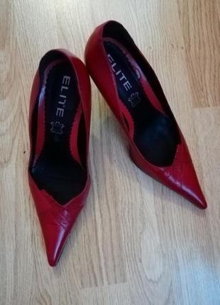Элегантные туфельки elite, размер 392 фото