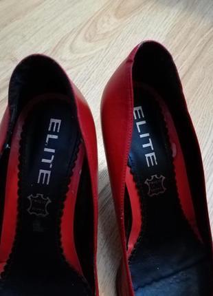 Элегантные туфельки elite, размер 394 фото